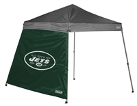 New York Jets 10 X 10 Slant Leg Shelter Wall