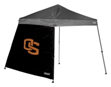 Oregon State University 10 X 10 Slant Leg Shelter Wall