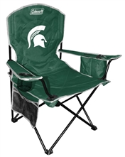 Michigan State University Cooler Quad Folding Chair XL Big Boy