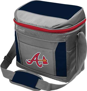 Atlanta Braves  16 Can Cooler with Ice - Coleman
