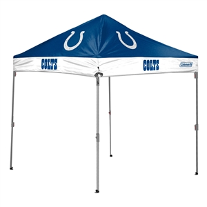 Indianapolis Colts  10 X 10 Canopy - Coleman Tailgate Shelter Tent