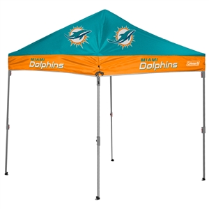 Miami Dolphins 10 X 10 Canopy Tailgate Tent