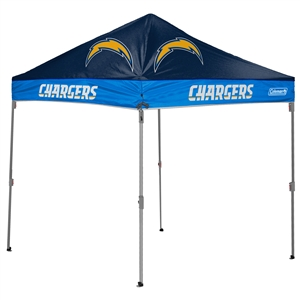 Los Angeles Chargers 10 X 10 Canopy Tailgate Tent