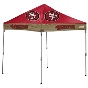 San Francisco 49ers 10 X 10 Canopy Tailgate Tent