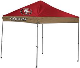 San Francisco 49ers 9 X 9 Canopy Tailgate Tent