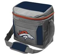 Denver Broncos 16 Can Cooler with Ice