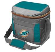Miami Dolphins 16 Can Cooler with Ice