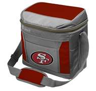 San Francisco 49ers 16 Can Cooler with Ice