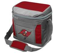 Tampa Bay Buccaneers 16 Can Cooler with Ice