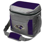 Baltimore Ravens 16 Can Cooler with Ice