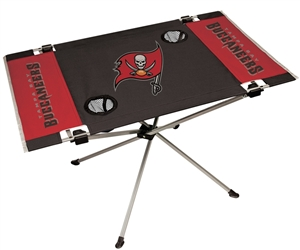 Tampa Bay Buccaneers Endzone Folding Tailgate Table