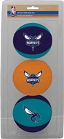 Charlotte Hornets NBA 3-Ball Soft Basketball Set