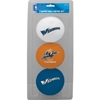 Washington Wizards 3 Point Shot Softee Basketball Set