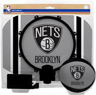 Brooklyn Nets  NBA Indoor Softee Basketball Hoop Slam Dunk Set