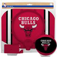 Chicago Bulls  NBA Indoor Softee Basketball Hoop Slam Dunk Set
