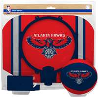 Atlanta Hawks  NBA Indoor Softee Basketball Hoop Slam Dunk Set