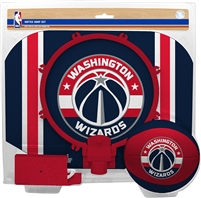 Washington Wizards  NBA Indoor Softee Basketball Hoop Slam Dunk Set