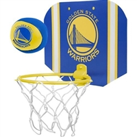 Golden State Warriors  NBA Indoor Softee Basketball Hoop Slam Dunk Set