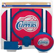 Los Angeles Clippers  NBA Indoor Softee Basketball Hoop Slam Dunk Set