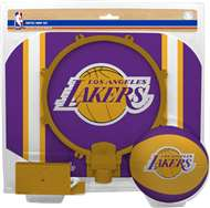 Los Angeles Lakers  NBA Indoor Softee Basketball Hoop Slam Dunk Set