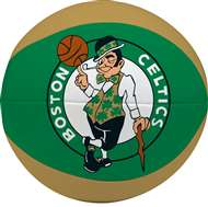 "Boston Celtics Free Throw 4"" Softee Basketball"