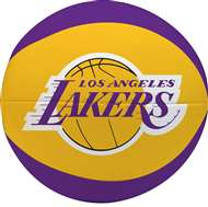 "Los Angeles Lakers Free Throw 4"" Softee Basketball"