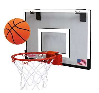 Rawlings Basketball Hoop Set Indoor Goal