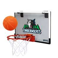 Minnesota Timberwolves Indoor Mini Basketball Goal Hoop Set