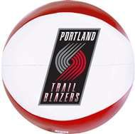 Portland Trailblazers 8 inch Softee Basketball