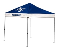 US Air Force Acadmey Falcons 9 X 9 Straight Leg Canopy Tailgate Tent