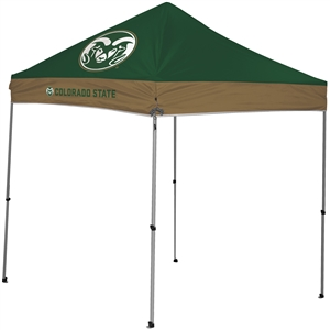 Colorado State University Rams 9 X 9 Straight Leg Canopy Tailgate Tent