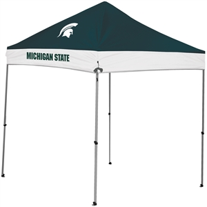 Michigan State University Spartans 9x9 Straight Leg Canopy with Carry Bag - Rawlings