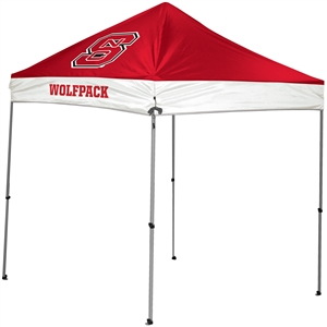North Carolina State University Wolfpack 9x9 Straight Leg Canopy with Carry Bag - Rawlings