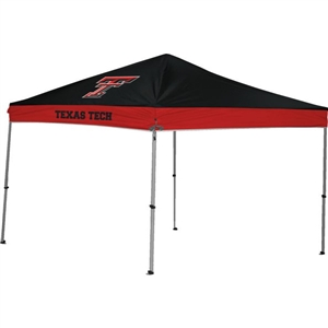 Texas Tech Red Raiders 9x9 Straight Leg Canopy with Carry Bag - Rawlings
