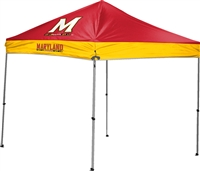 University of Maryland Terrapins 9x9 Straight Leg Canopy with Carry Bag - Rawlings
