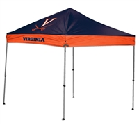 University of Virginia Cavaliers 9x9 Straight Leg Canopy with Carry Bag - Rawlings