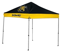 Wichita State University Shockers 9 X 9 Straight Leg Canopy Tailgate Tent