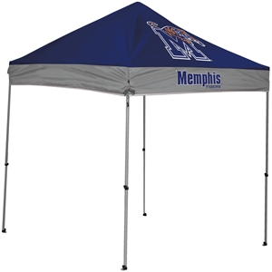 University of Memphis Tigers NCAA 9X9 STRAIGHT LEG CANOPY with Carry Bag - Rawlings