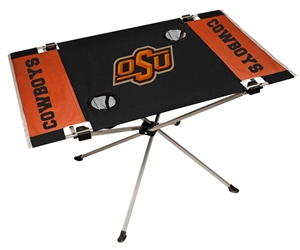 Oklahoma State University Cowboys Endzone Folding Table - Tailgate Camping