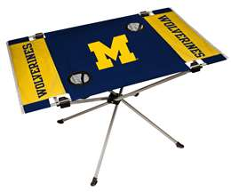 University of Michigan Wolverines Endzone Folding Table - Tailgate Camping