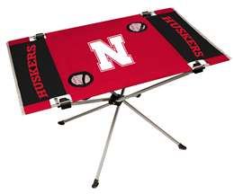 University of Nebraska Cornhuskers Endzone Folding Table - Tailgate Camping