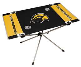 University of Southern Mississippi Eagles Endzone Folding Table - Tailgate Camping