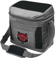 Arkansas State University Red Wolves 9 Can with ice Coleman Cooler