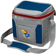 University of Kansas Jayhawks 9 Can with ice Coleman Cooler