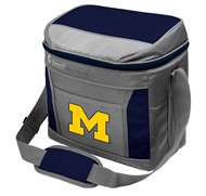 University of Michigan Wolverines 9 Can with ice Coleman Cooler