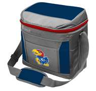 University of Kansas Jayhawks 16 Can with ice Coleman Cooler