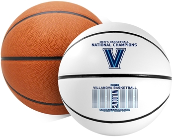Villanova University Wildcats 2018 NCAA Basketball National Champions Rawlings Basketball - Full Size