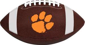 Clemson University Tigers  Rawlings Game Time Full Size Football Team Logo