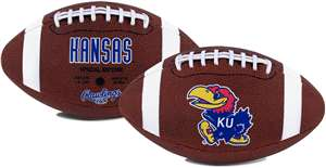 University of Kansas Jayhawks Rawlings Game Time Full Size Football Team Logo