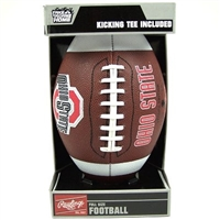 Ohio State University Buckeyes Rawlings Game Time Full Size Football Team Logo